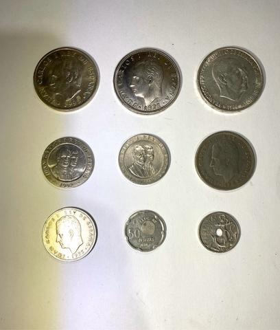 Colección De 9 Monedas