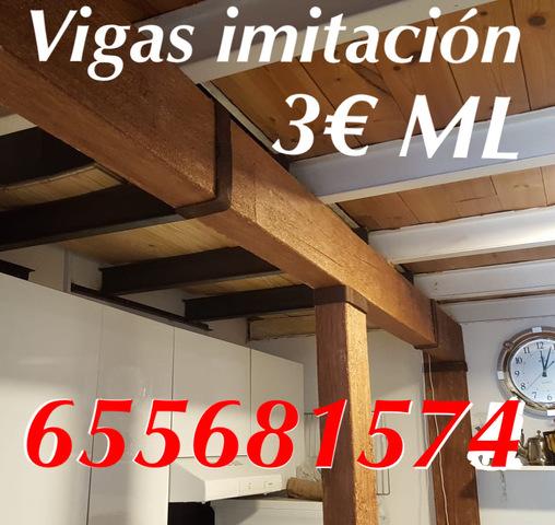 Vigas Paneles Imitación Madera Madrid
