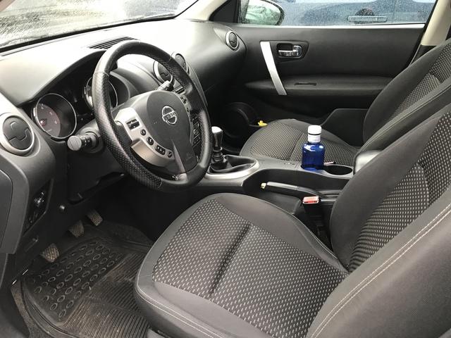Nissan qashqai II j11 a partir de 2013-medida fundas para asientos ya referencias imitación cuero negro