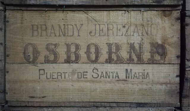 Caja Madera Brandy,Coñac De 1940