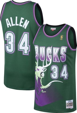 CAMISETA BALONCESTO NBA BUCKS 34 ALLEN - foto 1