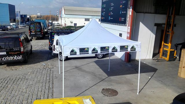 CARPA PLEGABLE 3X3 SIN LATERALES - foto 5