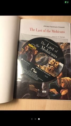 LIBRO THE LAST OF THE MOHICANS - foto 2