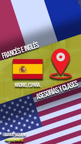 CLASES/ASESORÍAS DE INGLÉS Y FRANCÉS - foto 1