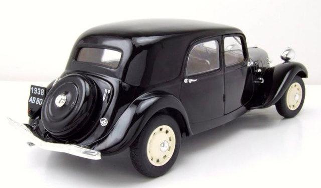 Solido citroen Traction 11cv 37 maqueta de coche auto sedán miniatura negro 1:18