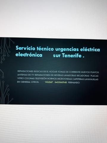 ELECTRICIDAD Y MANTENIMIENTO - foto 2