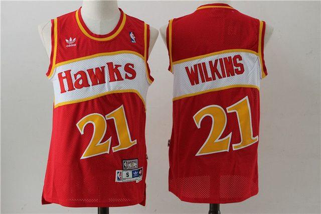 CAMISETA BALONCESTO NBA HAWKS 21 WILKINS - foto 1