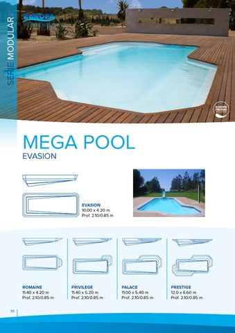 Piscinas · Venta · Mega Pool.