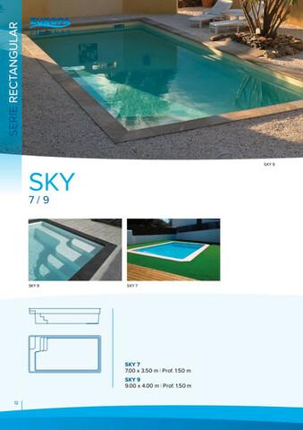 Serie Unión · Piscinas Venta.
