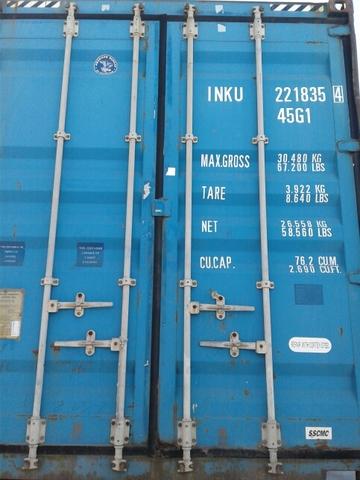 CONTENEDOR 40 HC USADO - foto 1