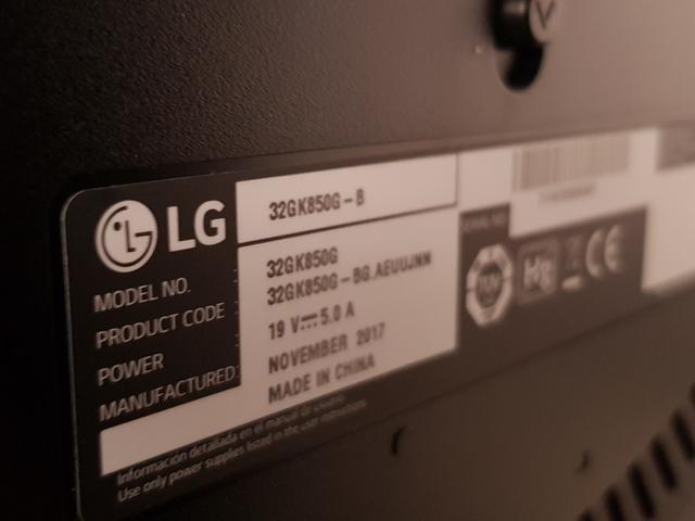 MONITOR GAMING 32 LG 165HZ 2K - foto 5