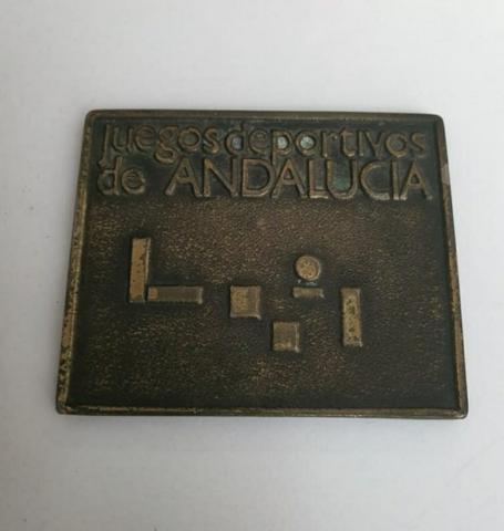 PLACA MEDALLA DE JUNTA ANDALUCÍA 1986 - foto 2