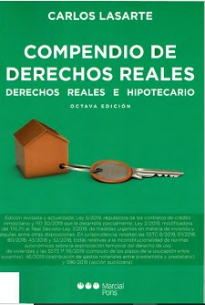 COMPENDIO DE DERECHOS REALES,  8ª 2019 PD - foto 1