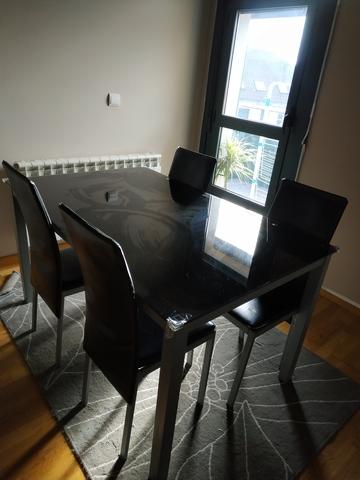 milanuncios conjunto comedor mesa y sillas alicante