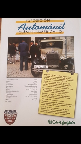 FORD A 1928.  - A 1928 BUSINESS COUPE.  - foto 5