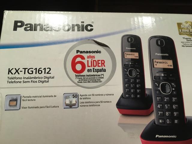 TELEFONOS INALAMBRICOS PAANSONIC KX-TG16 - foto 1