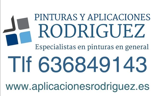 PINTURAS Y APLICACIONES RODRÍGUEZ - foto 1