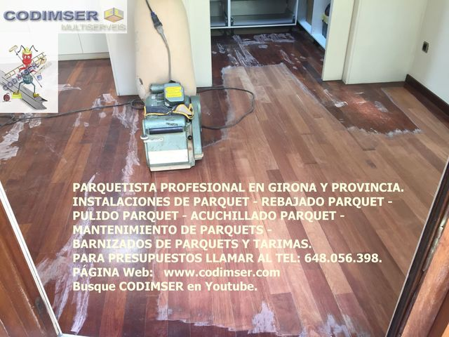 PULIDOR PARQUET GIRONA - foto 3