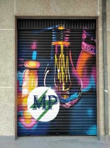 GRAFFITI MURAL PINTOR - foto 1