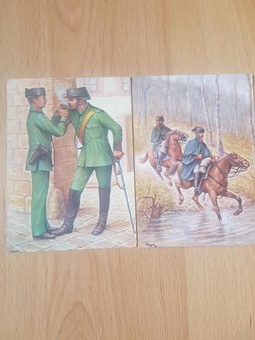 Postales Guardia Civil