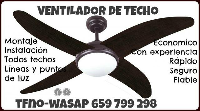 MIL ANUNCIOS.COM Oferta instalación ventiladores de techo
