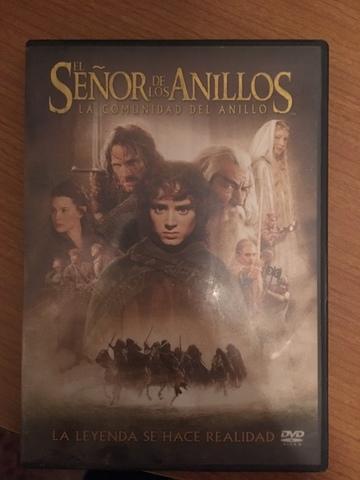 DVD SEÑOR DE LOS ANILLOS,  LA COMUNIDAD - foto 1
