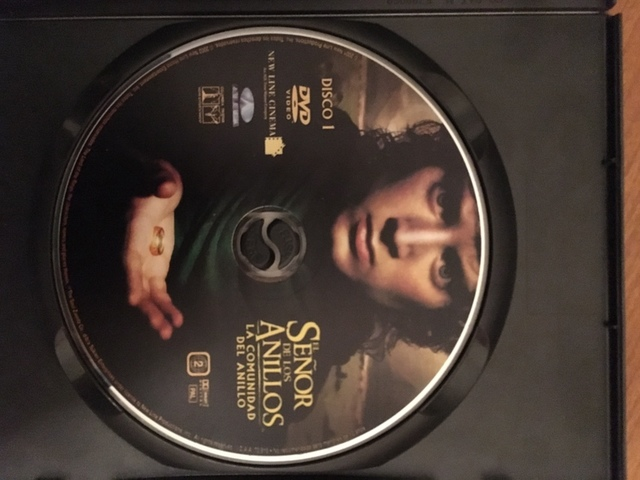 DVD SEÑOR DE LOS ANILLOS,  LA COMUNIDAD - foto 2