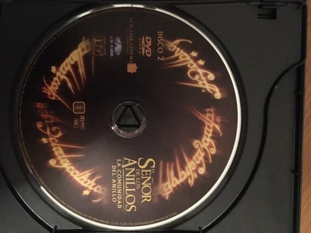 DVD SEÑOR DE LOS ANILLOS,  LA COMUNIDAD - foto 3