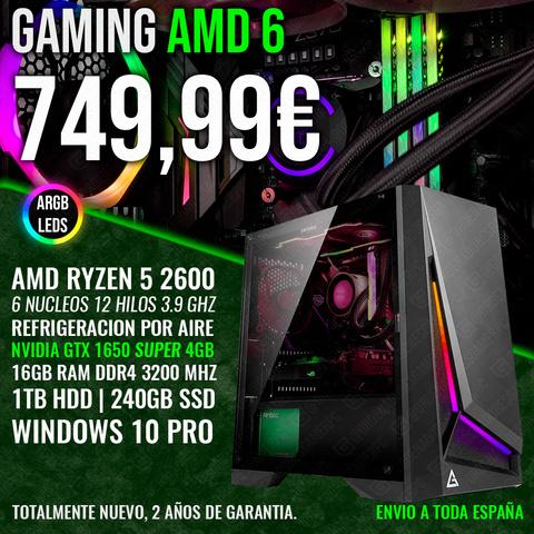 PC GAMING RYZEN 5 2600 GTX 1650 SUPER - foto 1