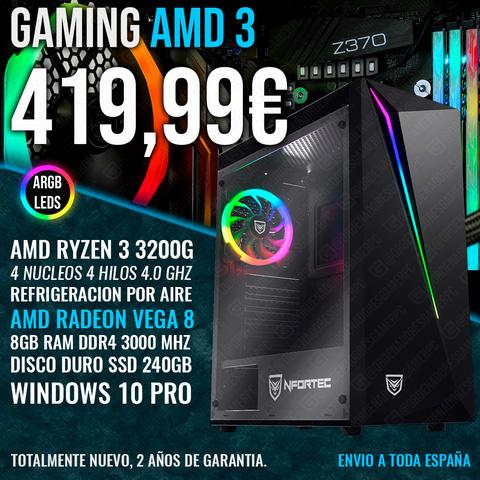 PC GAMING RYZEN 3 3200G VEGA 8 8GB 240GB - foto 1