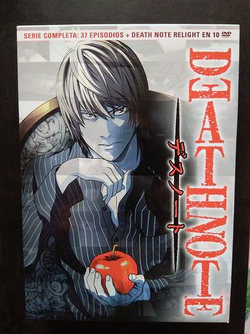 DEATH NOTE COMPLETA DVD RELIGHT ESPAÑOL - foto 1