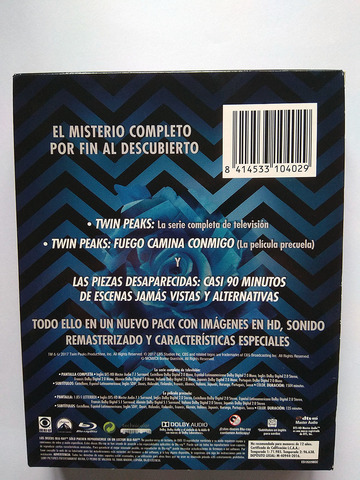 TWIN PEAKS MISTERIO COMPLETO (BLU-RAY) - foto 2