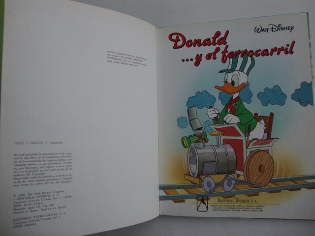 DONALD Y EL FERROCARRIL WALT DISNEY - foto 4
