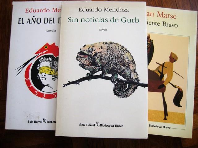 MENDOZA+MARSE:  SEIX BARRAL, 3 NOVELAS - foto 3