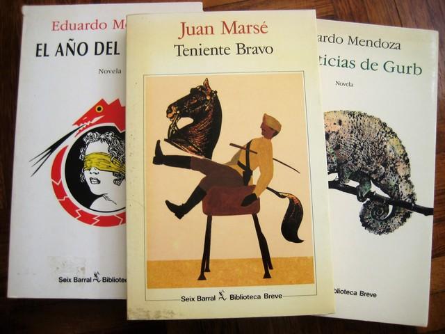 MENDOZA+MARSE:  SEIX BARRAL, 3 NOVELAS - foto 4