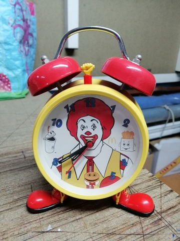 Reloj-Despertador Macdonalds