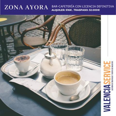 TRASPASO BAR-CAFETERÍA EN ZONA AYORA,  - foto 1