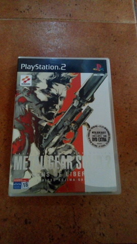 JUEGO PLAY STATION 2 METAL GEAR SOLID 2 - foto 1