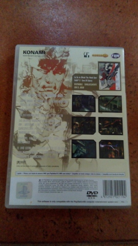 JUEGO PLAY STATION 2 METAL GEAR SOLID 2 - foto 2