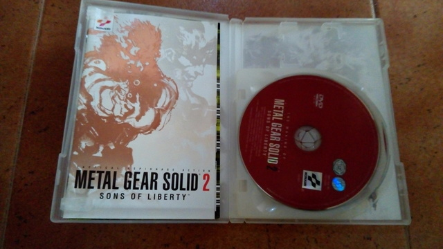 JUEGO PLAY STATION 2 METAL GEAR SOLID 2 - foto 3
