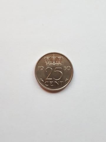 Moneda 25 Céntimos De Florín 1950