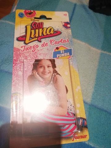 VENDO JUEGO CARTAS INFANTIL SOY LUNA - foto 2