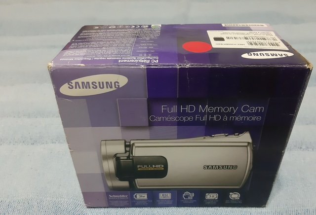 VIDEOCAMARA SAMSUNG HMX-H300BP/EDC - foto 1