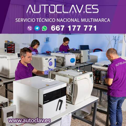 SERVICIO TÉCNICO AUTOCLAVES - foto 2