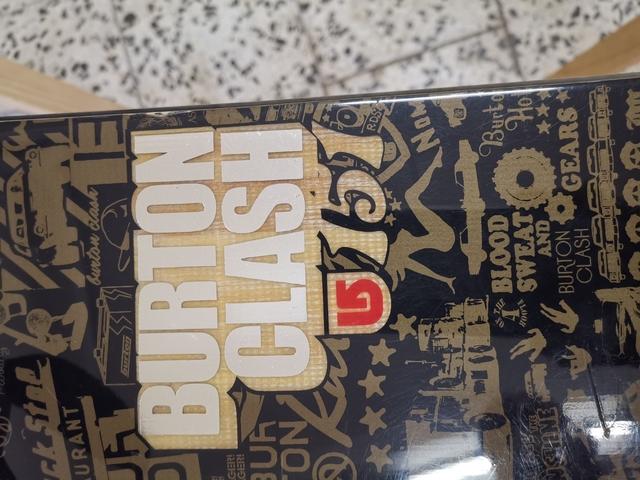 Tabla Burton Clash