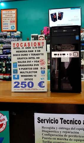 TORRE I5 8GB RAM + 1 TERABYTE - foto 2