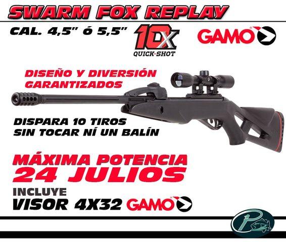 CARABINA DE AIRE COMPRIMIDO SWARM FOX - foto 1