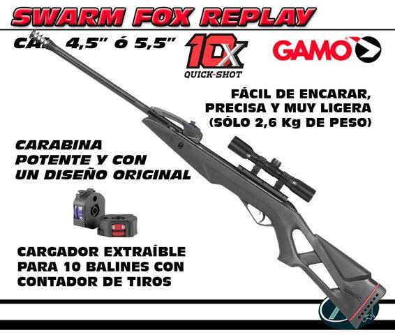 CARABINA DE AIRE COMPRIMIDO SWARM FOX - foto 2