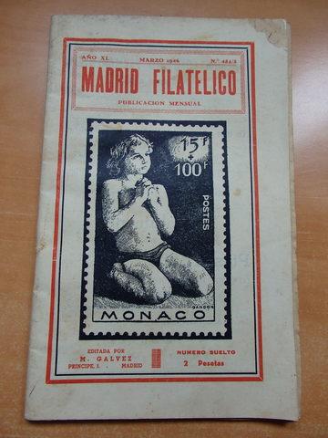 Revista Madrid Filatelico