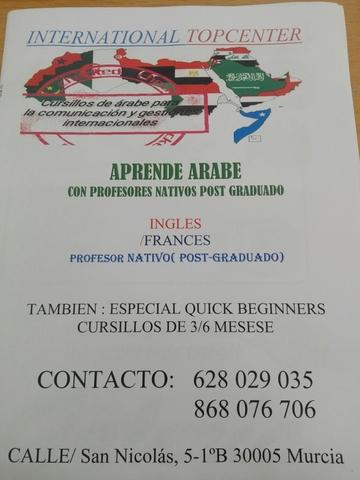 CURSILLOS DE ÁRABE PARA LA COMUNICACIÓN - foto 2